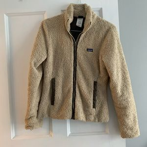 Patagonia fluffy zip down